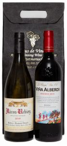 Old World Wine Two Bottle Gift Pack