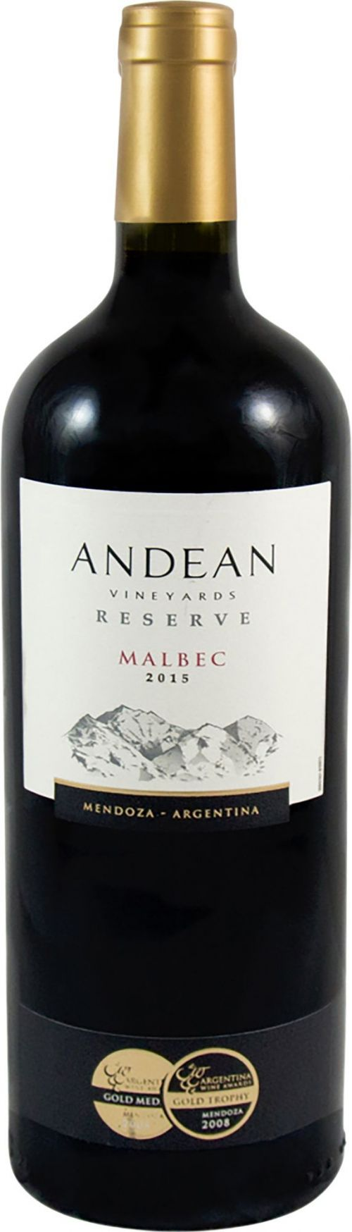 Andean Vineyards Malbec, Mendoza