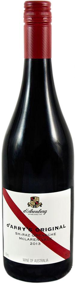 McLaren Vale d'Arenberg d'Arry's Original Shiraz – Grenache