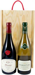 Wine Gift Sets In a Wooden Box - Christmas Wine Gifts
