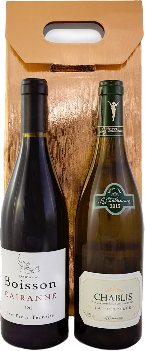 Two Wine Bottle Gift Pack Old World Wines
