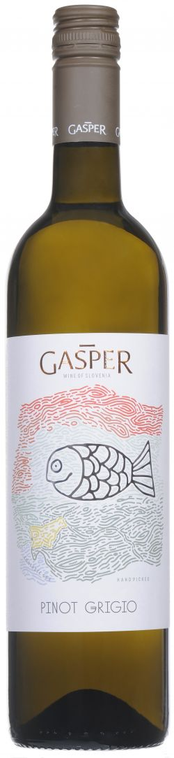 Gasper, Pinot Grigio, 2016