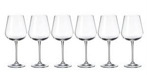 Tipperary Crystal Grape Wine Glasses 450ml Set of 6 half price