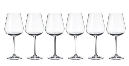 Tipperary Crystal Grape Wine Glasses 450ml Set of 6 half price