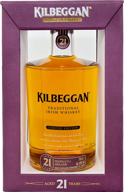 Kilbeggan Whiskey 21 Year Old Limited Edition