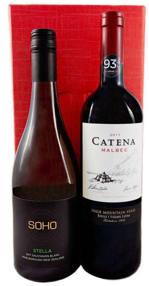 Old World Wine 2 Bottle Box