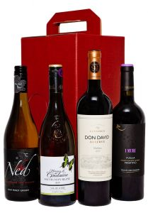 4 Bottle Gift Box Set