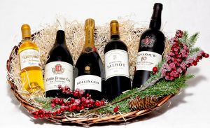Christmas Day Sorted Wine Gift Hampers