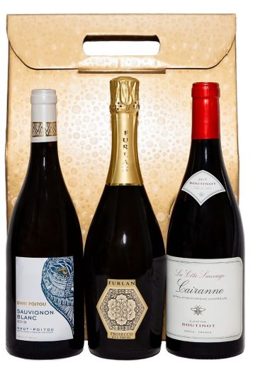 Jus de Vine deluxe 3 Bottle Gift Set