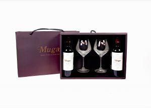 Muga Selection Especial & Riedel Rioja Glass Set
